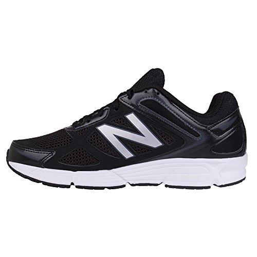 New Balance - Zapatillas de Material Sintético para hombre multicolor negro/plata