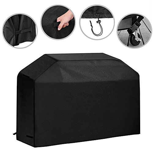72 inch Grill Cover Waterproof Outdoor BBQ Gas Grill Cover Heavy Duty for Weber, Char Broil, Holland, Brinkmann, DCS and Jenn Air