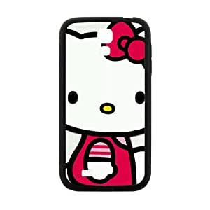 HGKDL Hello kitty Phone Case for samsung galaxy S4 Case