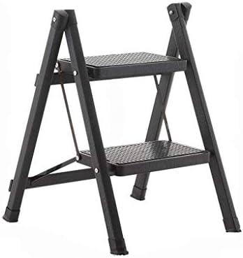 Multifuncional Dos pequeños pasos de escalera, Taburete de un bando de hierro Escalera portátil Escalera del taburete de baño escaleras de tijera Niños/Múltiples colores estable (Color : I): Amazon.es: Bricolaje y herramientas