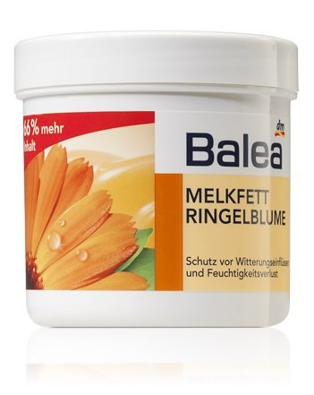 Balea Melkfett milking grease - Calendula Gel-Cream - Protects Skin Against Environmental Damage / Stress from Cold, Wind, Rain etc - 250ml (Not Tested on Animals) by dm-drogerie (Cream Animal)
