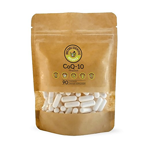 DSO 100 mg Ubiquinol CoQ-10 Doctor-Designed Formula Maximum Effectiveness 90 Capsules