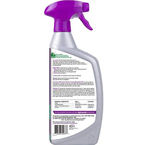 Rejuvenate Scrub Free Soap Scum Remover Shower Glass Door Cleaner Works on Ceramic Tile, Chrome, Plastic and More 24oz