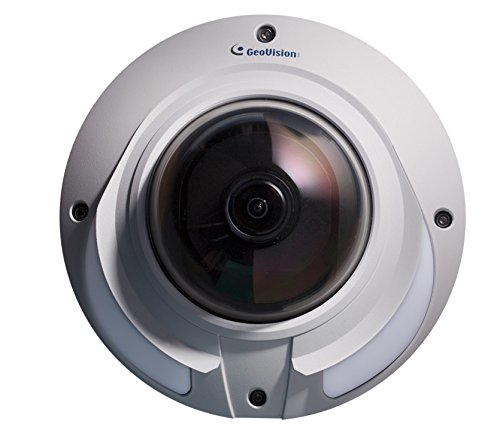 GeoVision GV-VD5711 5MP H.265 2X Zoom Low Lux Wdr IR Vandal Proof IP Dome