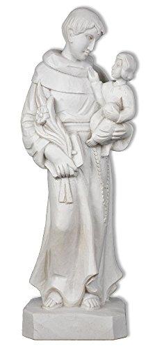 Saint Anthony of Padua Resin Statue (White)
