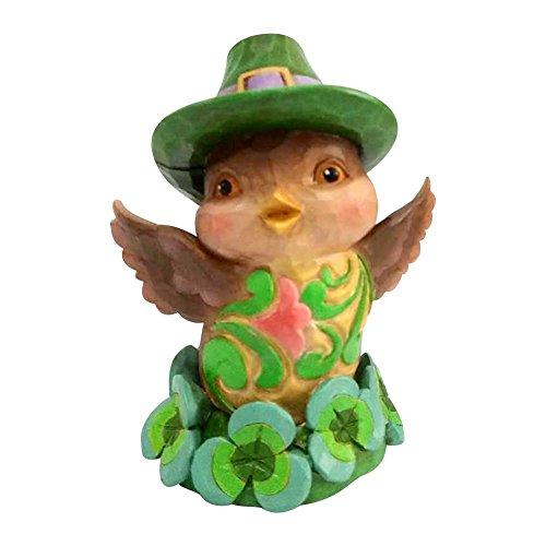 Enesco Jim Shore Heartwood Creek Mini Irish Bird (St Pats Figurines)