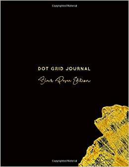 Dot Grid Journal Black Paper Edition: 8.5x11 Inch | All Black Paper por Nifty Notebooks Gratis