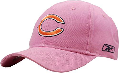 Chicago Bears Reebok Pink Twill Velcro Back Hat (Reebok Bears)