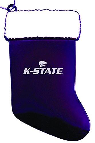 Kansas State Wildcats Holiday Ornament - Kansas State University - Chirstmas Holiday Stocking Ornament - Purple