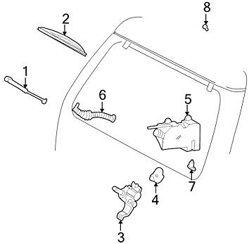 Genuine Ford F3TZ-17526-C Wiper Arm Assembly: Amazon co uk