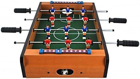 ISO TRADE Juego de Futbolín Grande Juego de Fútbol para 12 Jugadores Máquina De Fútbol Juguetes Mesa De Juego Mesa Grande De Fútbol para Interiores Regalos Juguetes y Juegos 1565: Amazon.es: Deportes