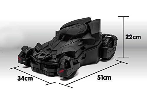 Welly Batmobile Kids' Travel Suitcase (Batman V Superman) Black by Welly (Image #5)