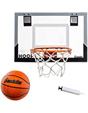 Franklin Sports Over The Door Mini Basketball Hoop - Slam Dunk Approved - Shatter Resistant - Accessories Included