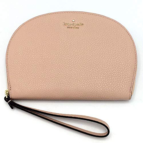 Kate Spade Half Moon Jackson Soft Leather Wristlet (Warmvellum)