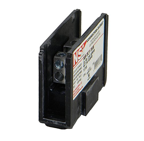 (POWER DISTRIBUTION BLOCK, 1-POLE, (1) 2/0-14 AWG / (4) 4-14 AWG WIRE, 175 AMP PER POLE, P/N)