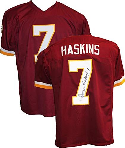 (Authentic Dwayne Haskins Autographed Signed Jersey (JSA COA) Washington Redskins QB)