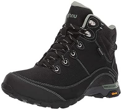 Teva Women's Sugarpine II WP Ripstop Hiking Boot, Black/Green Bay, 10 US