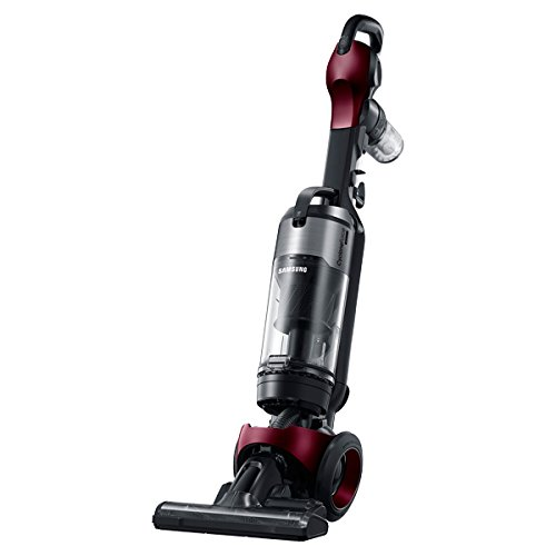 Samsung VU7000 Motion Sync Bagless Upright Vacuum with Fully Detachable Handheld (Refined Wine) (Renewed) by Samsung