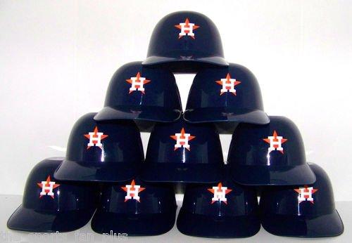 Houston Astros Official MLB 8oz Mini Baseball Helmet Ice Cream Snack Bowls (10)