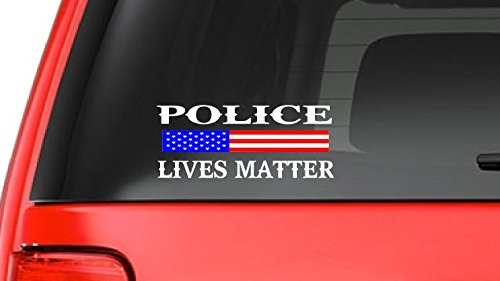 Police Lives Matter (S10) Thin Blue Line Cop Police Sheriff Trooper Vinyl Decal Sticker Car USA Window