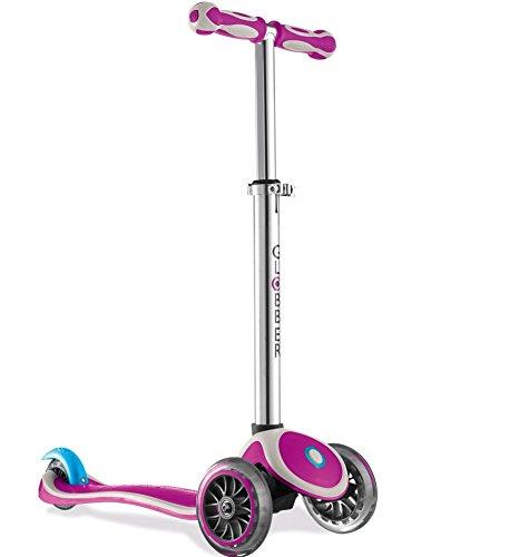 Globber My Free 2C Scooter mit 3 R/ädern violett//grau