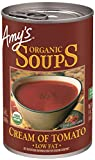 Amy's Soups, Organic Cream of Tomato Soup, 14.5 Ounce