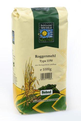 Bohlsener Mühle Roggenmehl Type 1150 1er Pack (1 x 1000 g ) - Bio