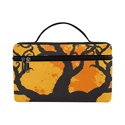Halloween Holiday On Oct 31 Lunch Box Tote Bag Lunch Holder Insulated Lunch Cooler Bag For -