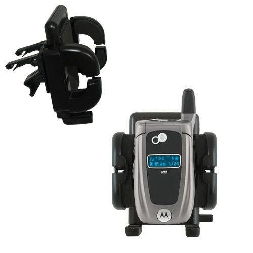 Gomadic Air Vent Clip Based Cradle Holder Car / Auto Mount suitable for the Nextel i850 / i855