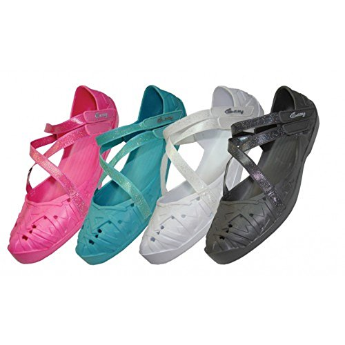 36 Pairs, Wholesale Girls' Criss-Cross Solid Color Shoes, childrens clogs, clogs by LF Wear