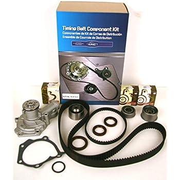 01-11 Kia Rio Rio5 Hyundai Accent 1.6L DOHC Timing Belt Kit GMB Water Pump Fits