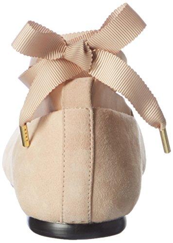 Bianco Damen Pointy Lace Ballerina 25-49212 Geschlossene Ballerinas Elfenbein (neutral)