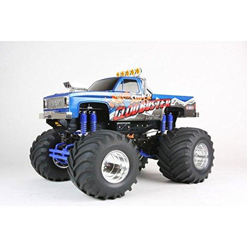 Tamiya America, Inc 1/10 Super Clod Buster 4WD Monster Truck Kit, TAM58518 (Tamiya Trucks)