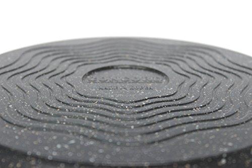 """CONCORD Marble Coated Nonstick Cast Aluminum Wok. (12"""")"""