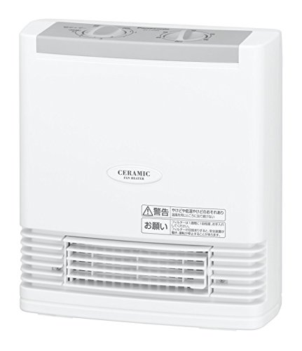 Panasonic Ceramic Fan Heater Compact White Ds-f1204-w