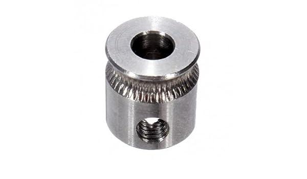 Calidad MK7 engranajes dientes de extrusión con M4 tornillo para ...