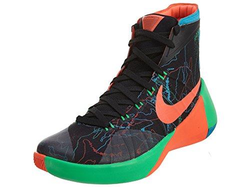 Nike Mens Hyperdunk 2015 Premium Basketball Shoe Black/Bl...