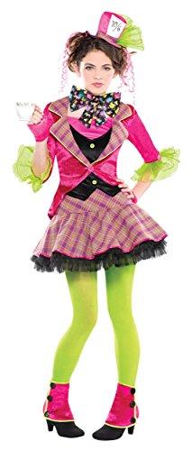 [Mad Hatter Costume - Teen Medium] (Mad Hatter Costume Kids Girl)