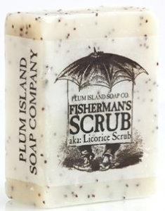 Plum Island Soap - Fisherman Scrub , All Natural Handmade Soap made in New England