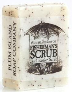 Plum Island Soap - Fisherman Scrub , All Natural Handmade Soap made in Massachusetts