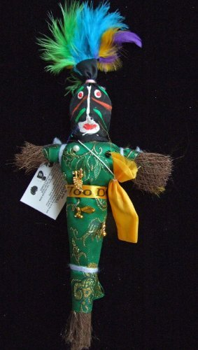 Voodoo Doll A-2 Good Luck Power Money WEALTH PROSPER Revenge by Mardi Gras (Mardi Gras Plush)