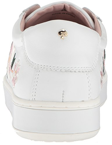 Kate Spade New York Womens Ambra Sneaker Bianco Nappa