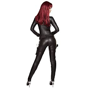 - 41B4fYTs6JL - Roma Costume Women's 2 Piece Alluring Assassin