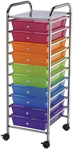 Review Ten Drawer Storage Cart IGA881 By Alvin by Alvin