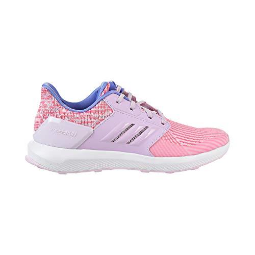 (adidas Unisex-Kids Rapidarun Knit J Sneaker, Aero Pink s, Aero Pink s, Ftwr White, 4 M US Big Kid)