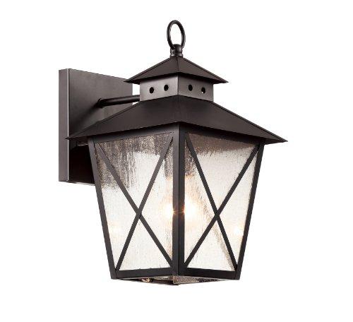 Trans Globe Lighting 40171 BK Outdoor Circa 13.25