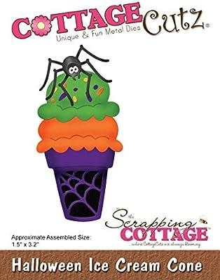 CottageCutz Die-Halloween - Cono de Helado para Disfraz de ...