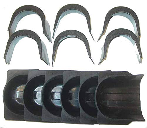(Set 6 pcs Rubber Gully Boots and + 6 pcs 4