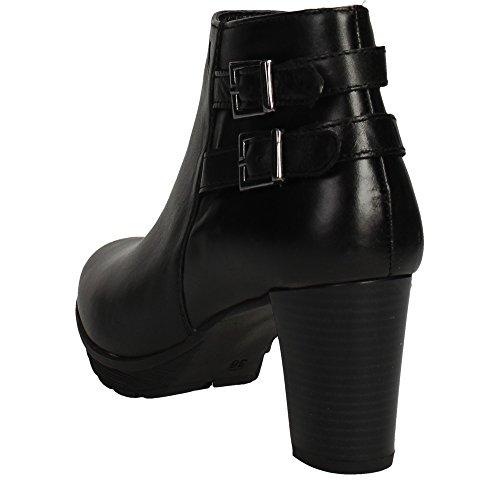 Cinzia Soft IV9779 002 Botines con Tacones Mujer Negro
