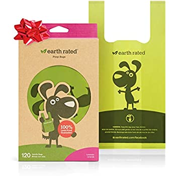 Amazon.com : Earth Rated Mini Poop Bags, Lavender-Scented ...